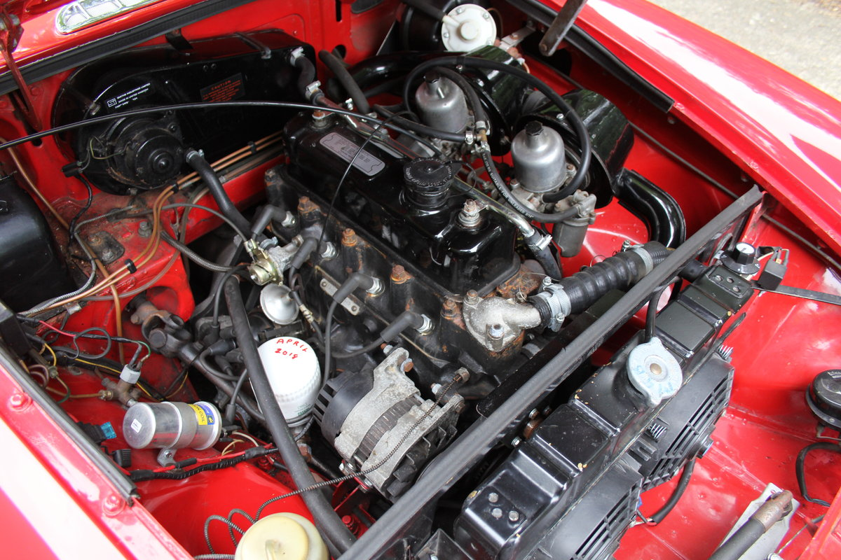 1970 MGB Roadster - UK car, overdrive, CWW For Sale (picture 12 of 12)