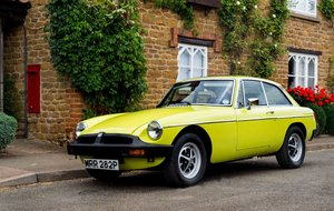 MGB GT 1976 Citron Yellow For Sale