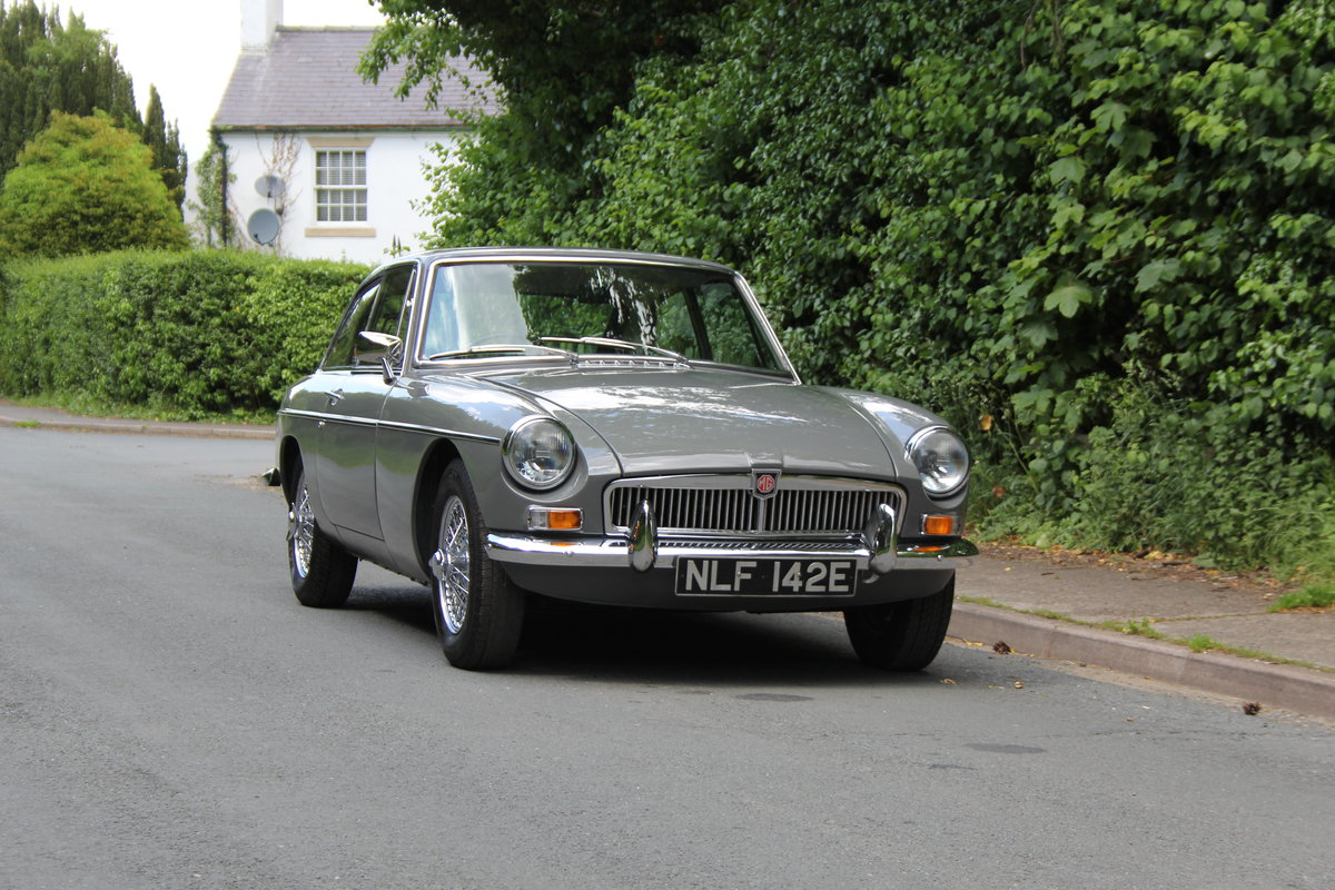 1967 MGB GT - Rebuilt Engine, Gearbox and Overdrive. For Sale (picture 1 of 12)