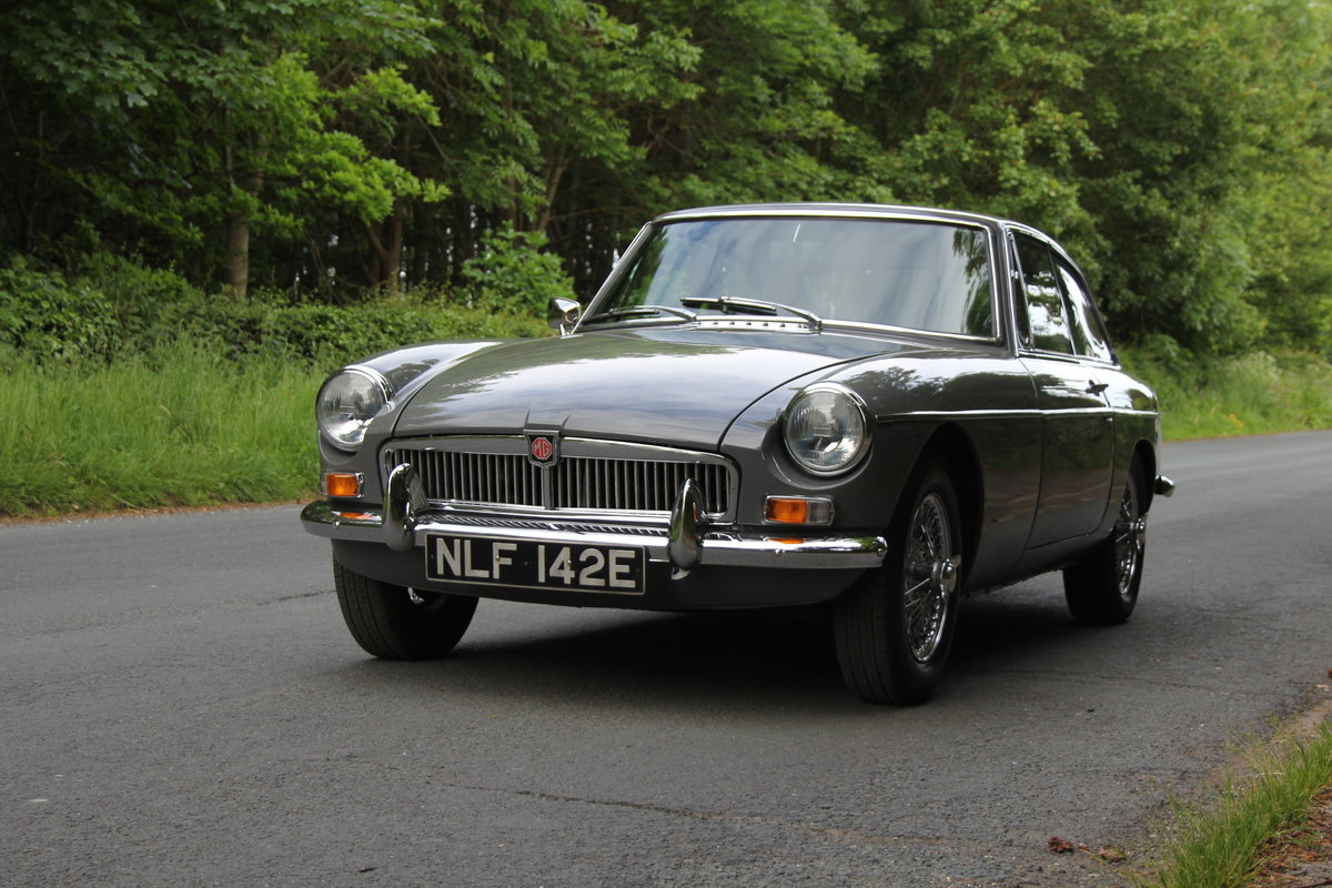 1967 MGB GT - Rebuilt Engine, Gearbox and Overdrive  For