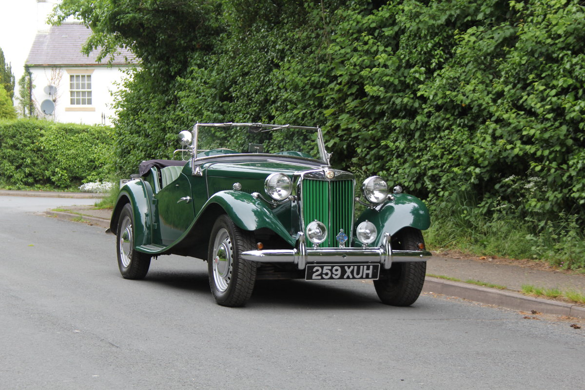 1953 MG TD - Exceptional Condition - 5 Speed Gearbox SOLD (picture 1 of 12)