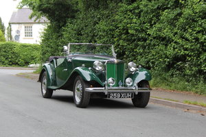 1953 MG TD - Exceptional Condition - 5 Speed Gearbox SOLD