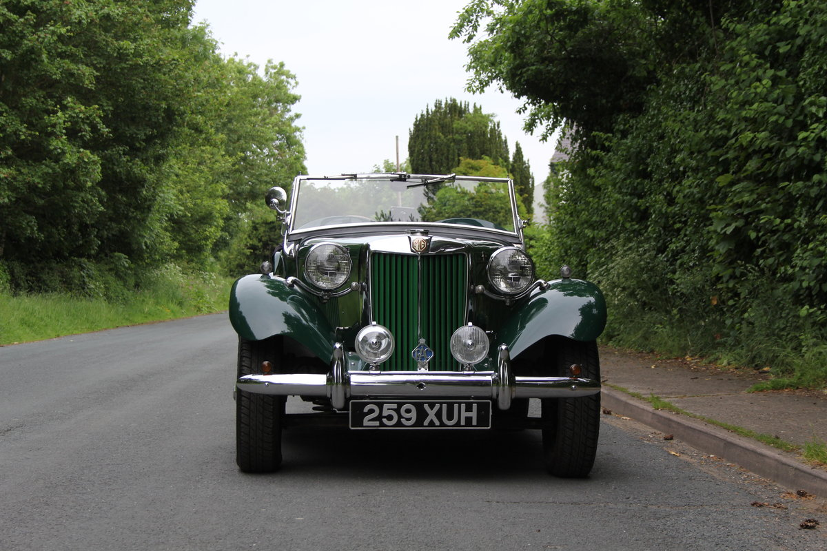 1953 MG TD - Exceptional Condition - 5 Speed Gearbox SOLD (picture 2 of 12)