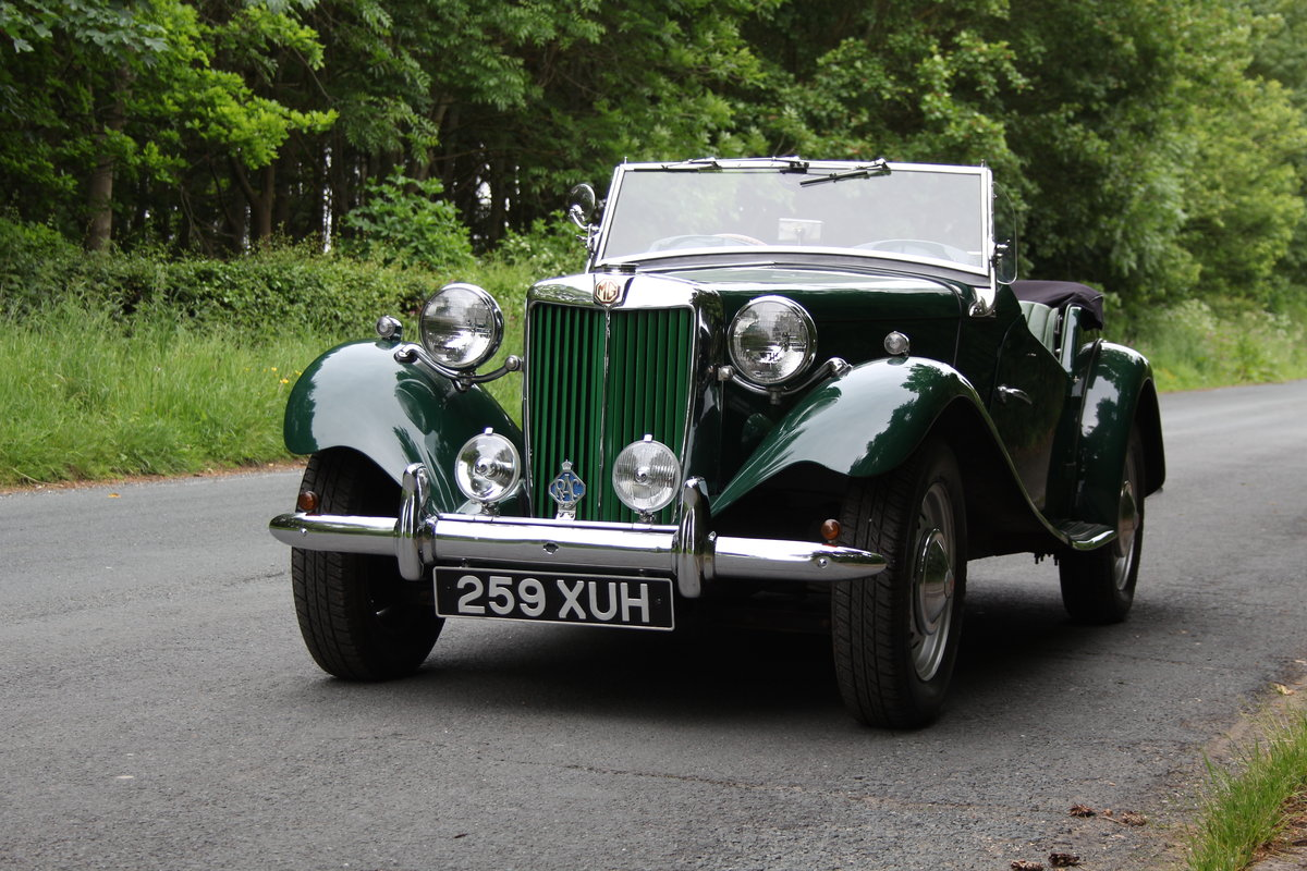 1953 MG TD - Exceptional Condition - 5 Speed Gearbox SOLD (picture 3 of 12)