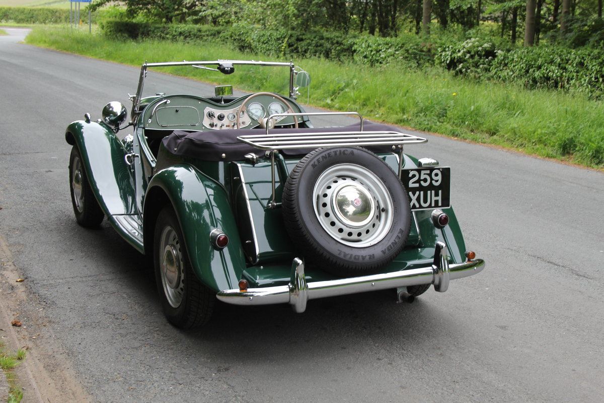 1953 MG TD - Exceptional Condition - 5 Speed Gearbox SOLD (picture 4 of 12)