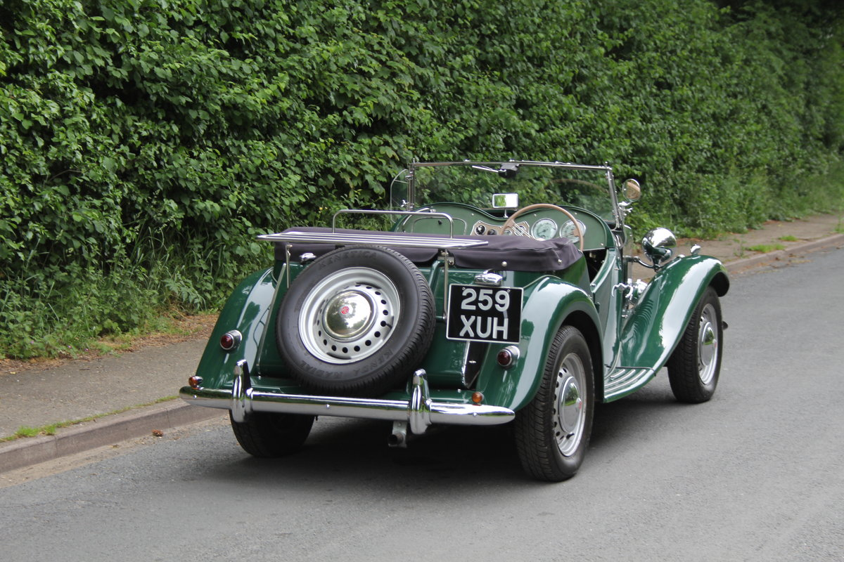 1953 MG TD - Exceptional Condition - 5 Speed Gearbox SOLD (picture 5 of 12)