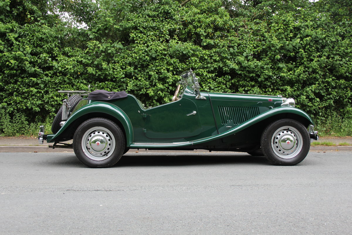 1953 MG TD - Exceptional Condition - 5 Speed Gearbox SOLD (picture 6 of 12)