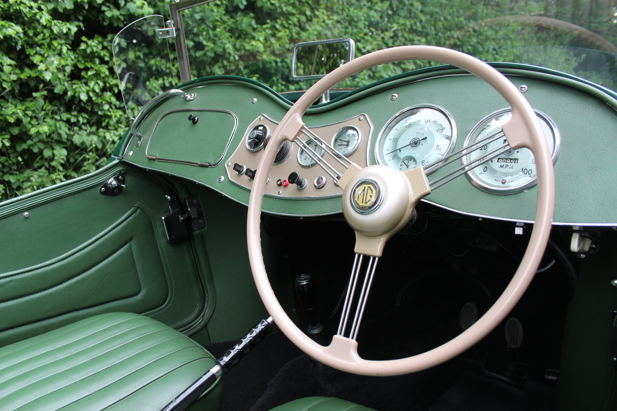 1953 MG TD - Exceptional Condition - 5 Speed Gearbox SOLD (picture 7 of 12)