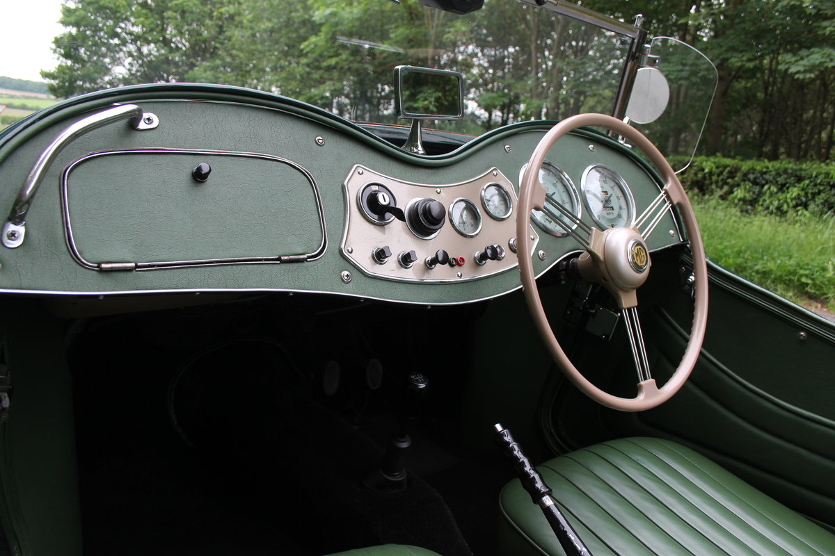 1953 MG TD - Exceptional Condition - 5 Speed Gearbox SOLD (picture 9 of 12)