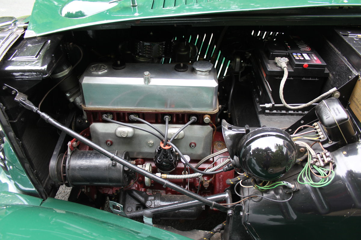 1953 MG TD - Exceptional Condition - 5 Speed Gearbox SOLD (picture 11 of 12)