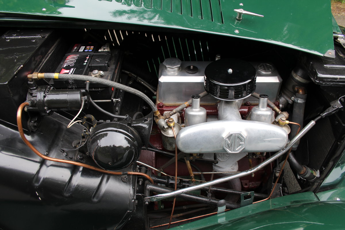 1953 MG TD - Exceptional Condition - 5 Speed Gearbox SOLD (picture 12 of 12)