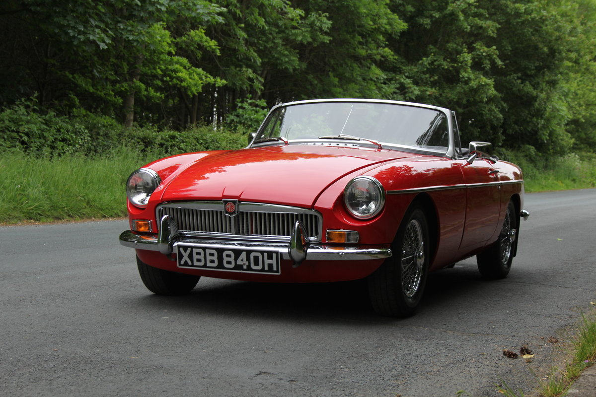1970 MGB Roadster - UK car, overdrive, CWW For Sale (picture 3 of 12)