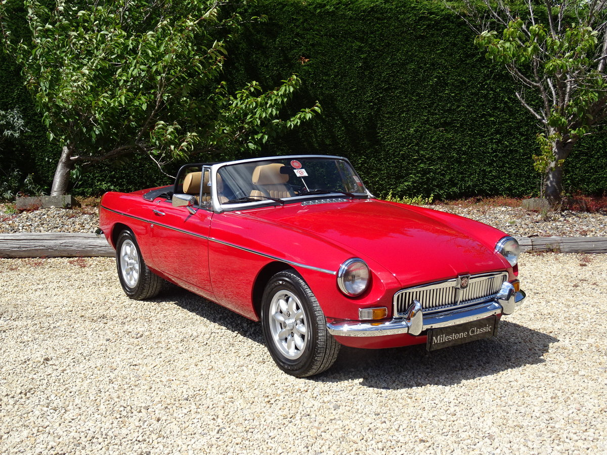 MGB V8 Roadster Conversion – Simply the Best SOLD | Car And