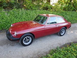 1977 MG B GT for sale by auction on June 15th SOLD by Auction