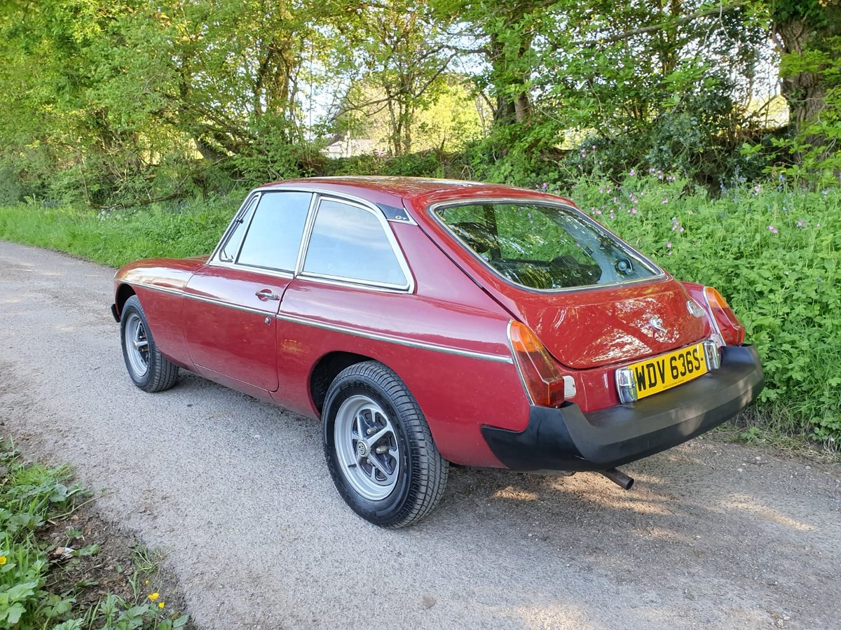 1977 MG B GT for sale by auction on June 15th SOLD by Auction (picture 2 of 3)