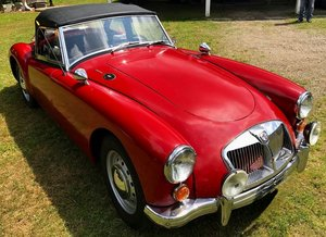 1962 COMING SOON - MGA MK2 ROADSTER - SENSIBLY PRICED For Sale