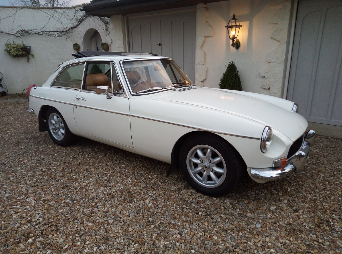 1972 MGB GT IMMACULATE  EXAMPLE - SUPERB THROUGHOUT For Sale (picture 1 of 6)