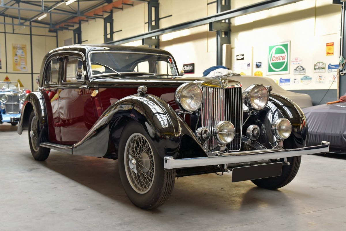 MG SA 1936 in Concours Condition SOLD (picture 1 of 6)