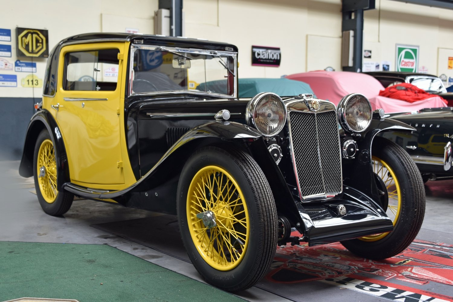 1934 MG L1 Continental Coupé For Sale (picture 1 of 6)