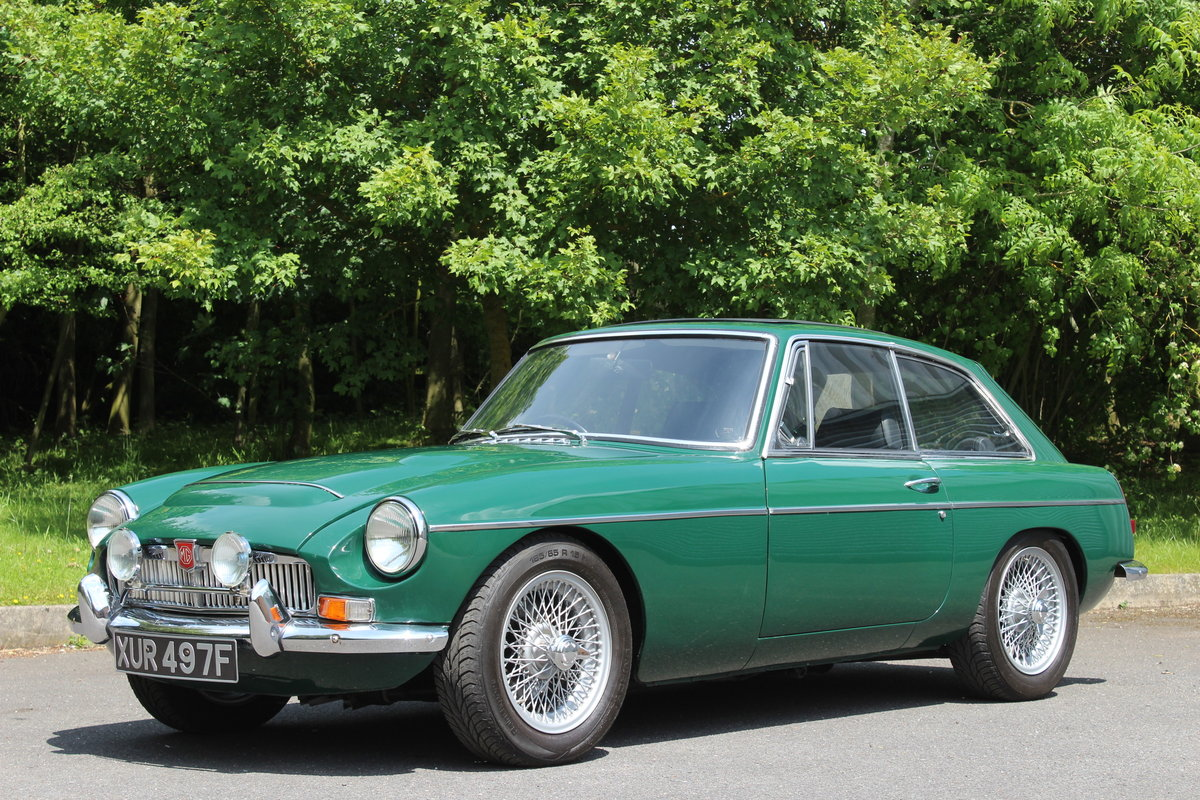 1968 MGC GT - OVERDRIVE - SOLD - MORE REQUIRED SOLD (picture 1 of 6)