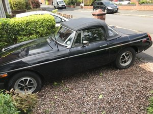 1975 MGB ROADSTER OVERDRIVE - MOT & TAX EXEMPT For Sale
