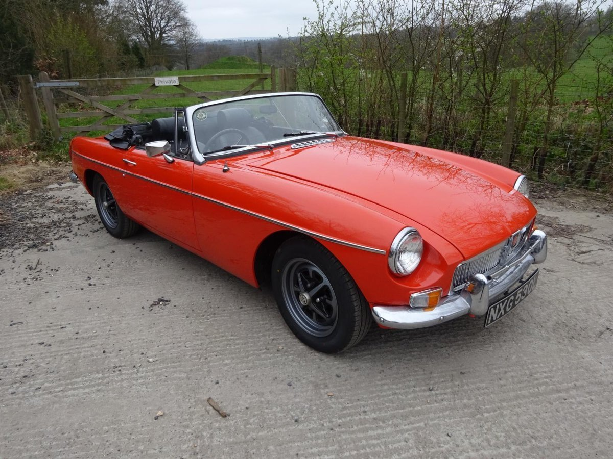 1973 MGB Roadster For Sale (picture 1 of 6)
