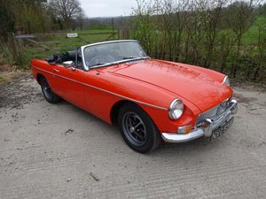 1973 MGB Roadster For Sale