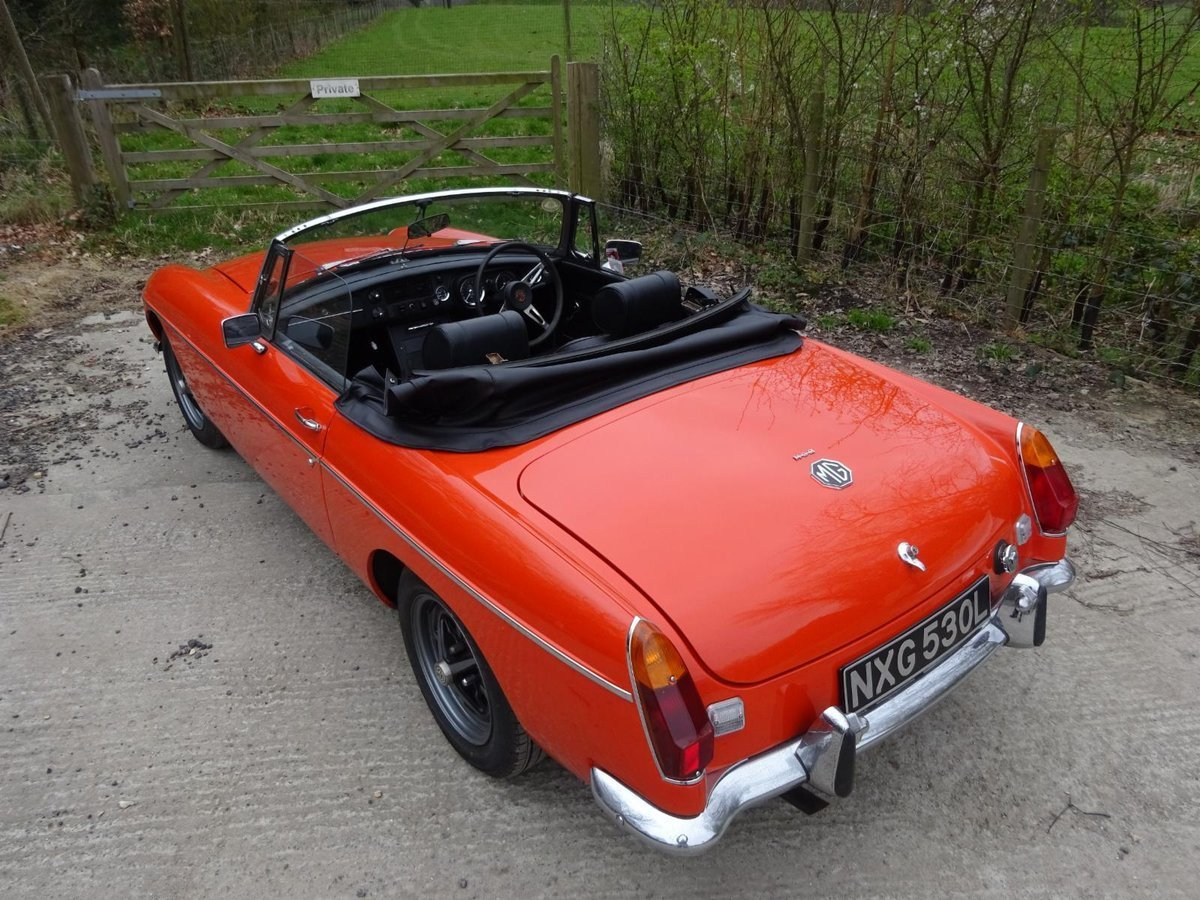 1973 MGB Roadster For Sale (picture 3 of 6)
