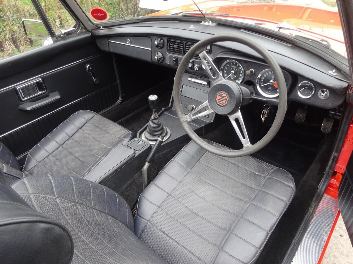 1973 MGB Roadster For Sale (picture 5 of 6)