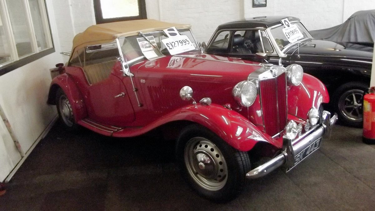 1952 MGTD 1250 SPORTS CONVERTIBLE TOURER For Sale (picture 1 of 6)