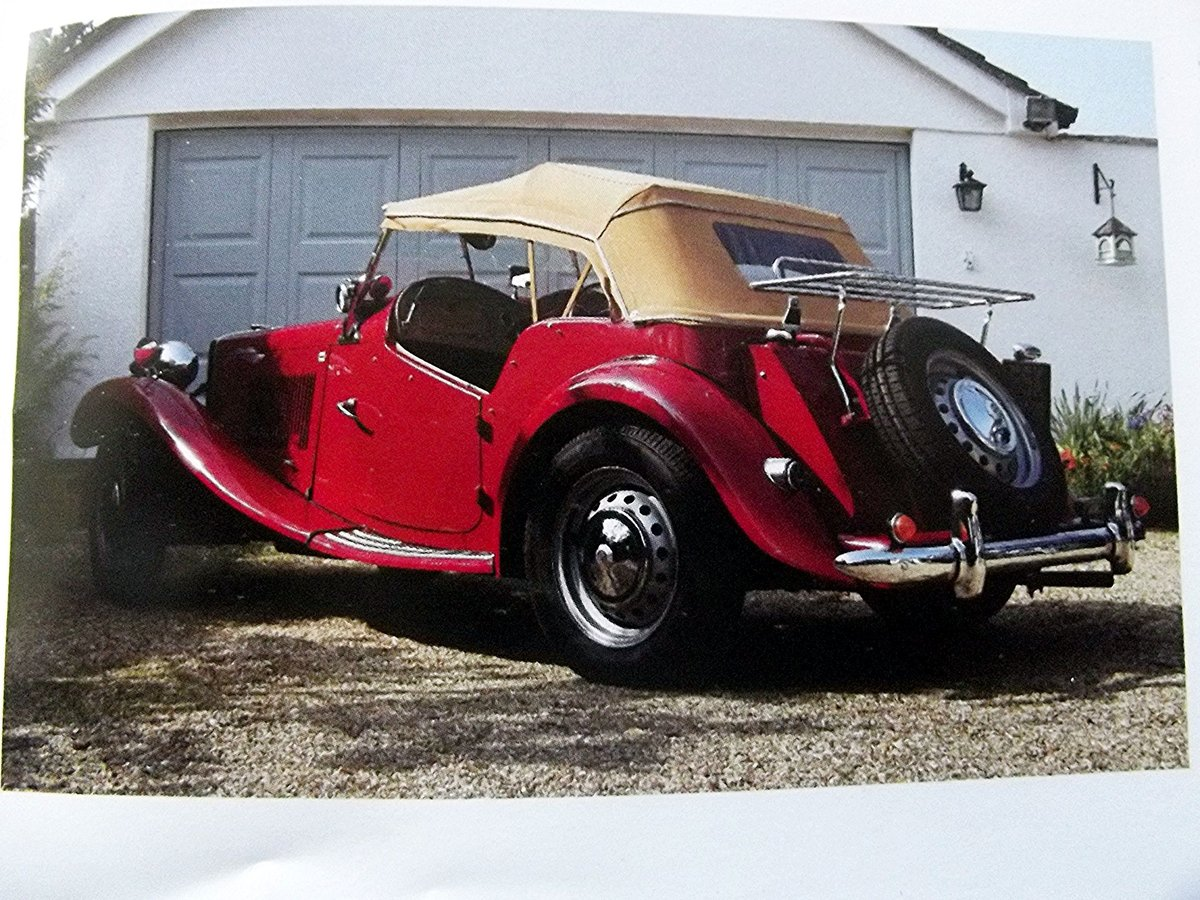 1952 MGTD 1250 SPORTS CONVERTIBLE TOURER For Sale (picture 2 of 6)