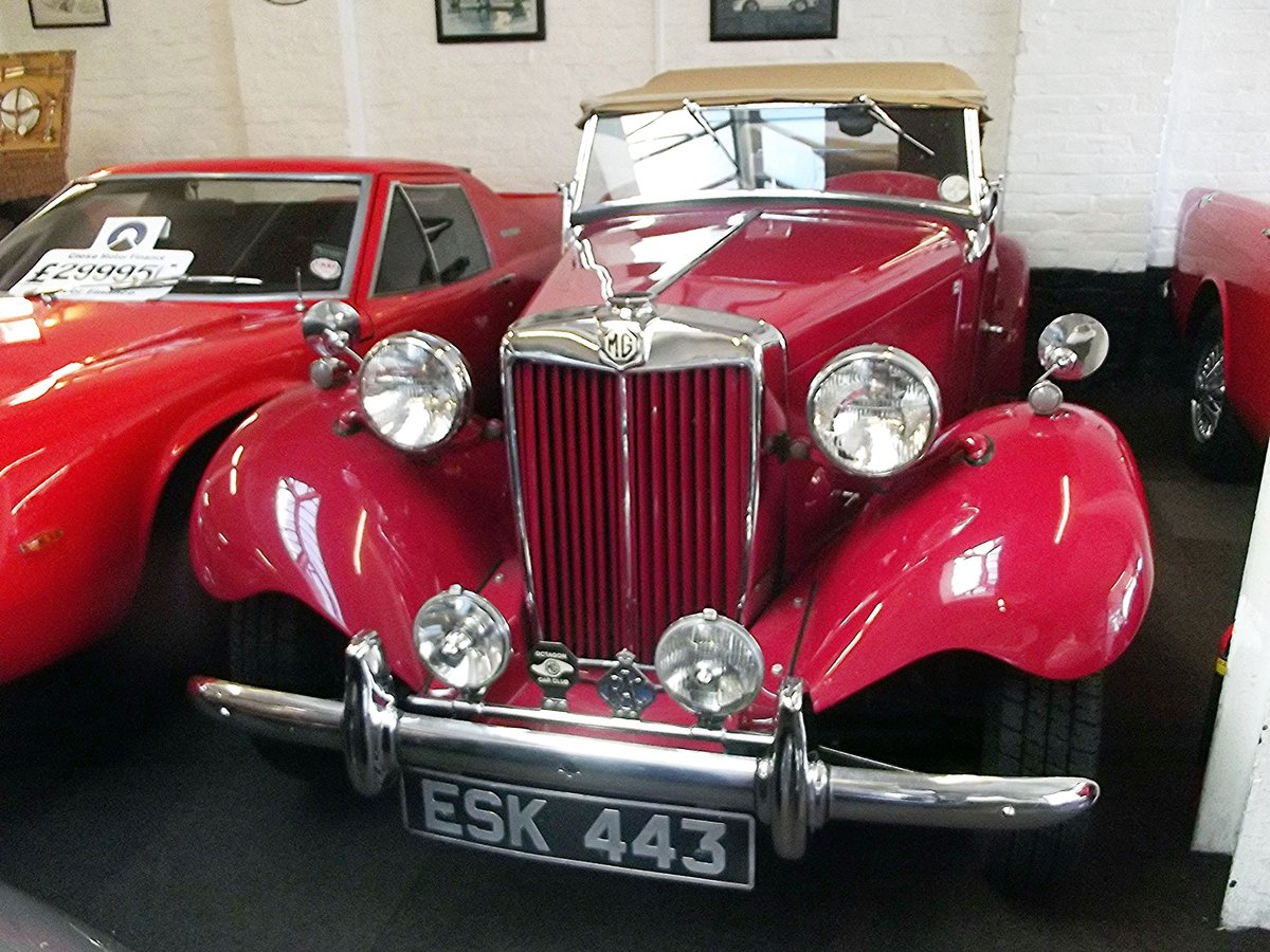 1952 MGTD 1250 SPORTS CONVERTIBLE TOURER For Sale (picture 3 of 6)