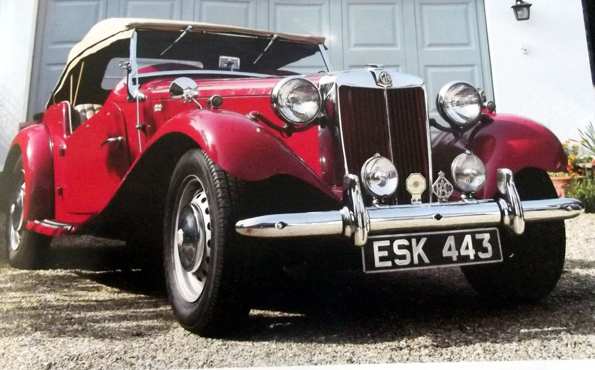 1952 MGTD 1250 SPORTS CONVERTIBLE TOURER For Sale (picture 4 of 6)
