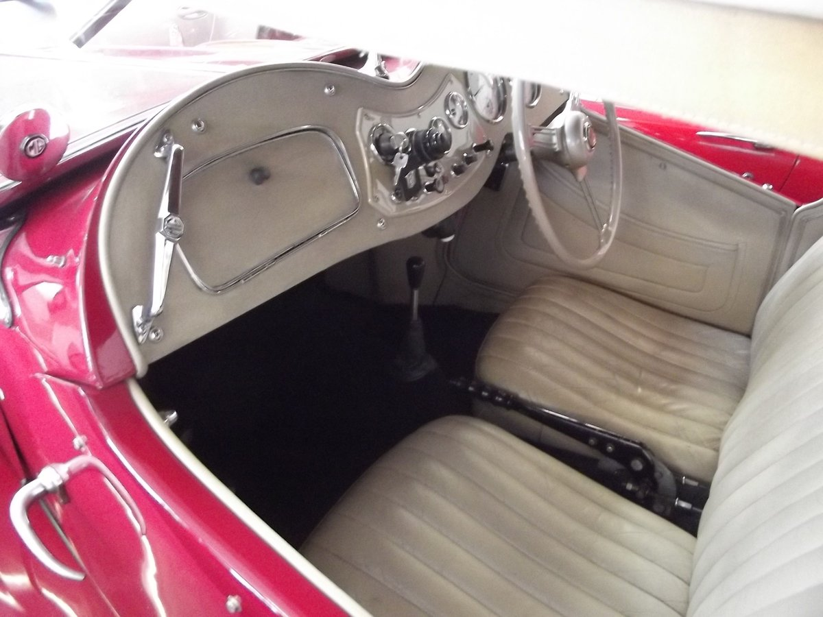 1952 MGTD 1250 SPORTS CONVERTIBLE TOURER For Sale (picture 5 of 6)