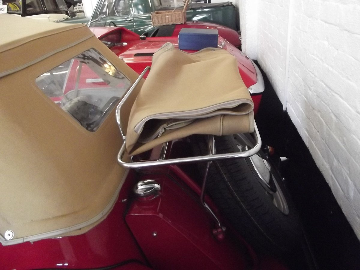 1952 MGTD 1250 SPORTS CONVERTIBLE TOURER For Sale (picture 6 of 6)