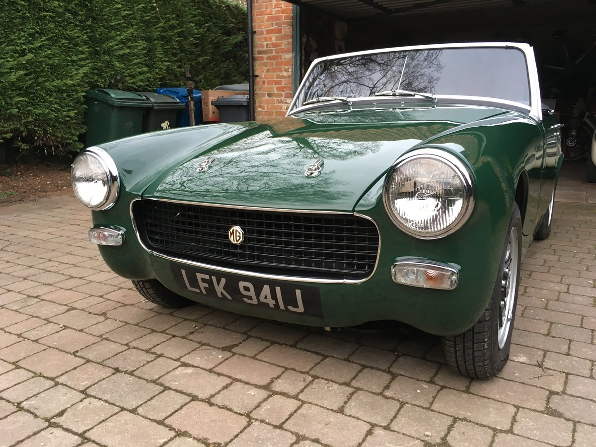 1970 MG Midget 1275 Heritage Shell For Sale (picture 1 of 6)