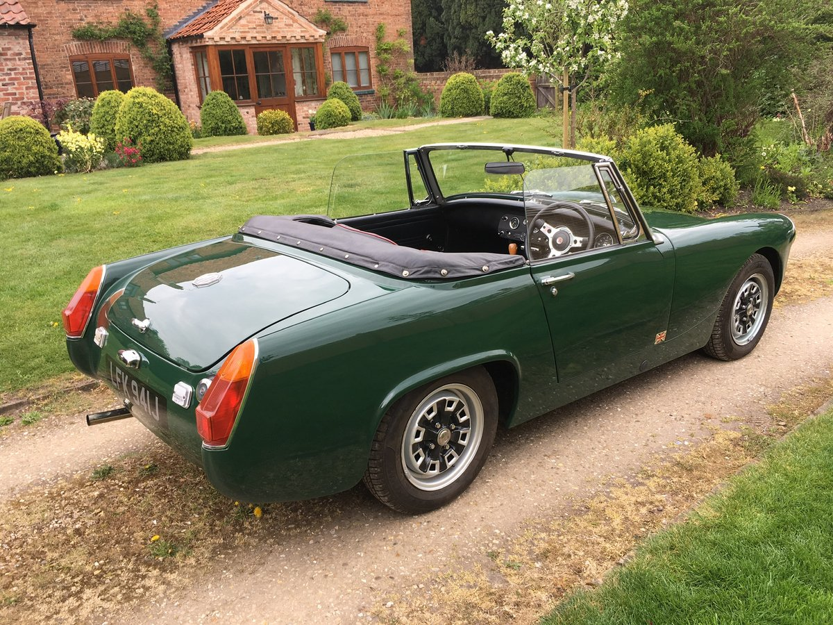 1970 MG Midget 1275 Heritage Shell For Sale (picture 5 of 6)