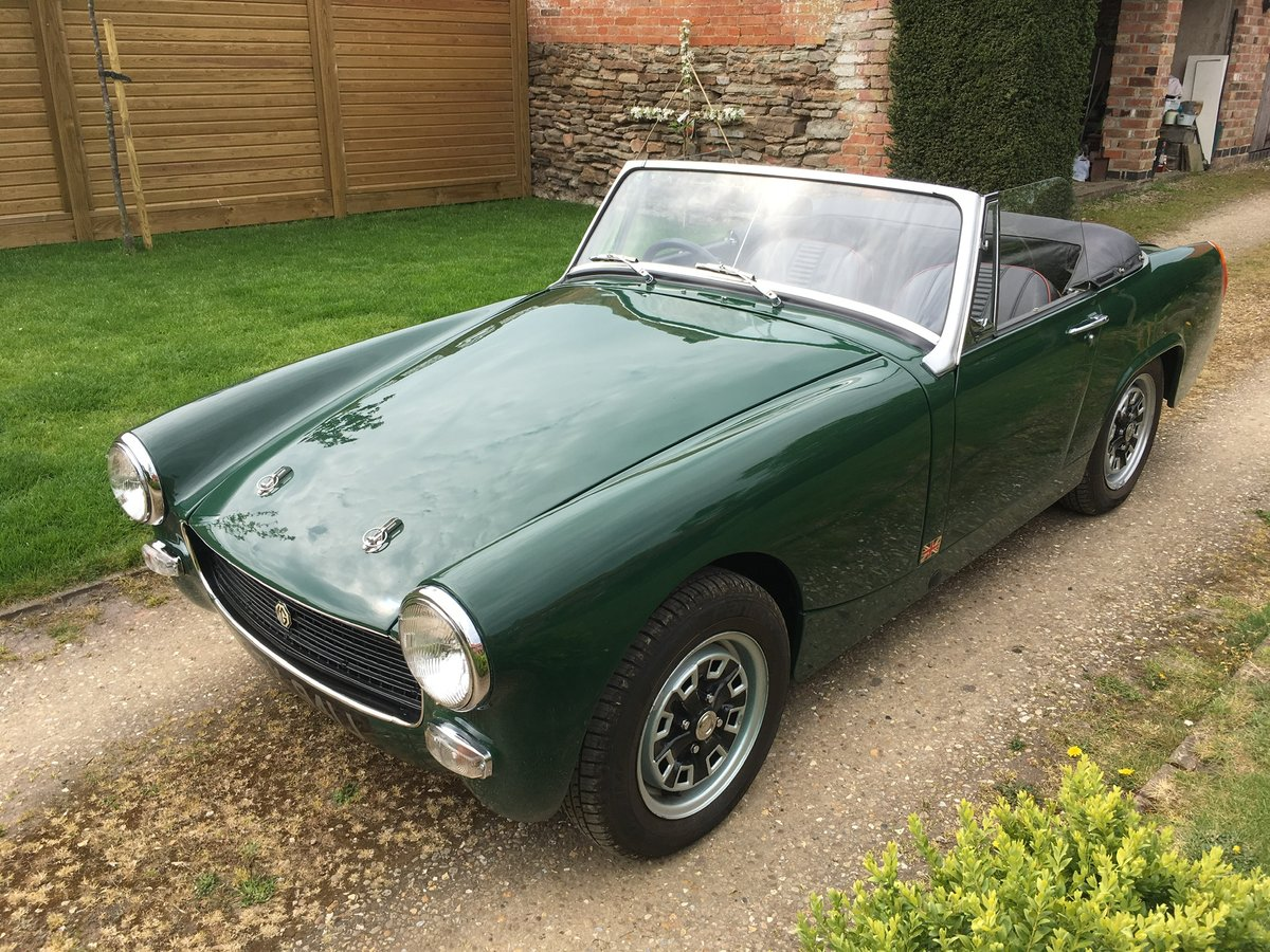 1970 MG Midget 1275 Heritage Shell For Sale (picture 6 of 6)