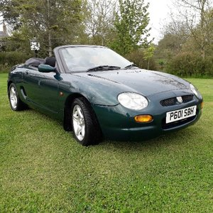 **NEW ENTRY** 1997 MG F 1.8 VVC SOLD by Auction