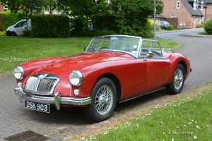 1958 MGA 1500 Roadster For Sale by Auction