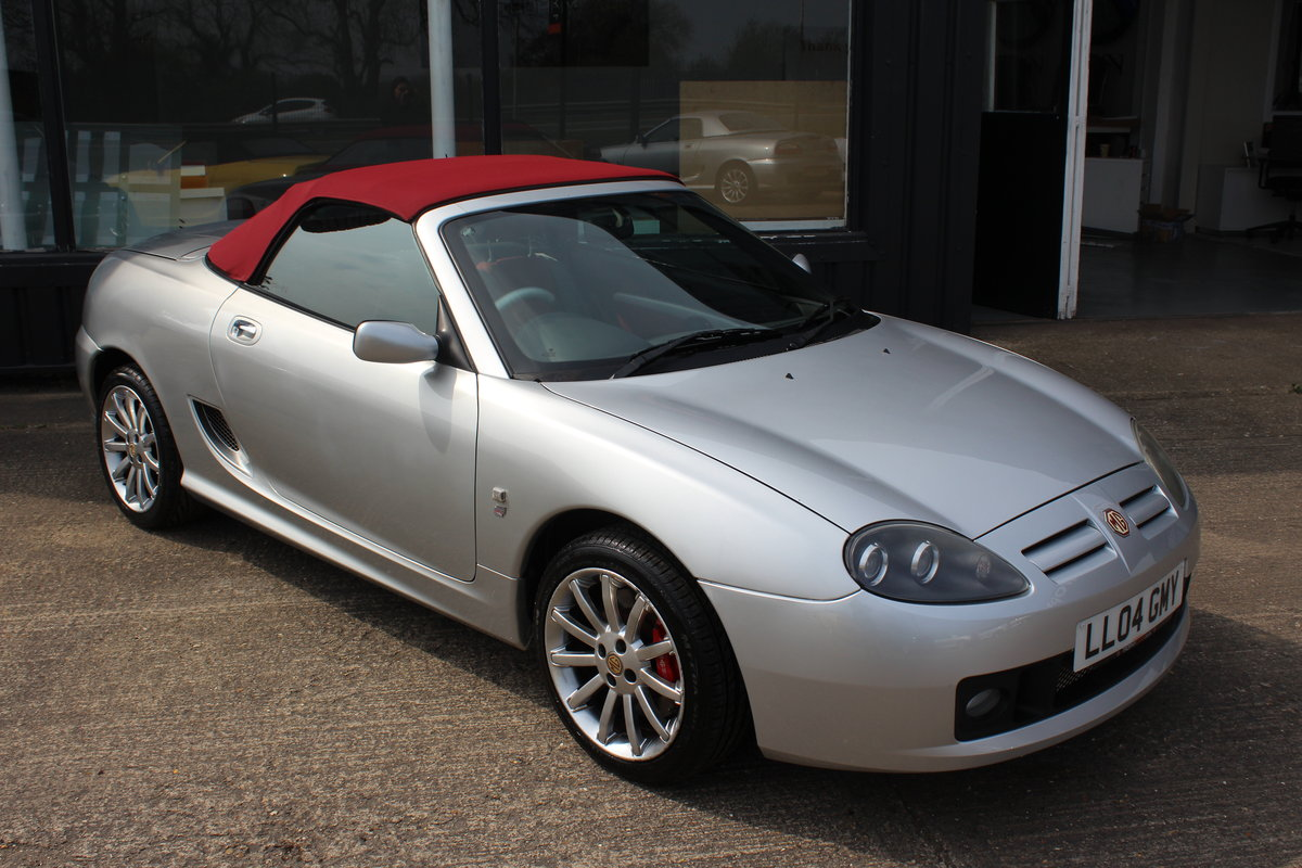 2004 MG TF 80TH ANNIVERSARY,26000 MILES, NEW HOOD,HEADGASKET,RAC For Sale (picture 1 of 6)