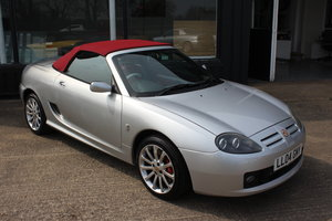 2004 MG TF 80TH ANNIVERSARY,26000 MILES, NEW HOOD,HEADGASKET,RAC