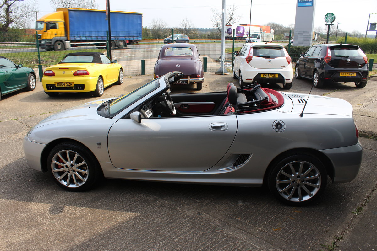 2004 MG TF 80TH ANNIVERSARY,26000 MILES, NEW HOOD,HEADGASKET,RAC For Sale (picture 3 of 6)