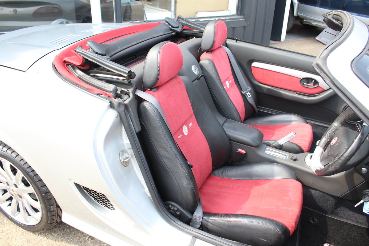 2004 MG TF 80TH ANNIVERSARY,26000 MILES, NEW HOOD,HEADGASKET,RAC For Sale (picture 5 of 6)