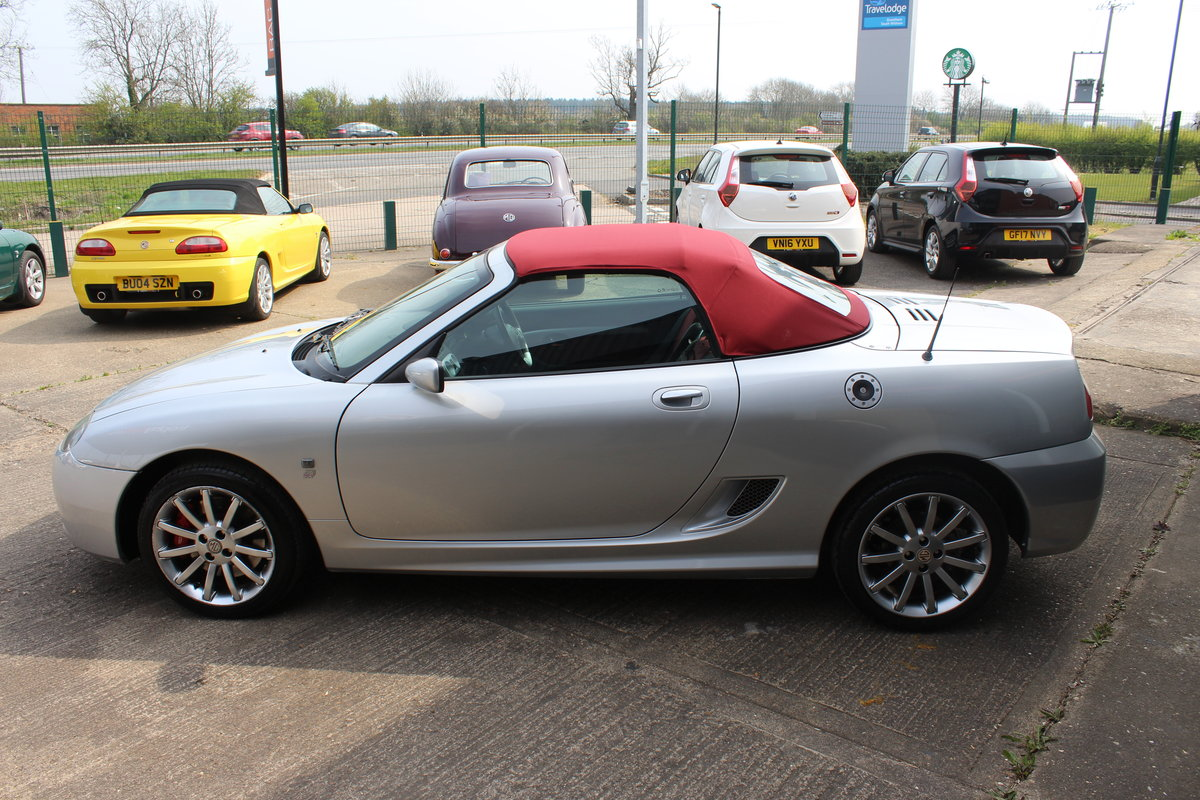 2004 MG TF 80TH ANNIVERSARY,26000 MILES, NEW HOOD,HEADGASKET,RAC For Sale (picture 6 of 6)