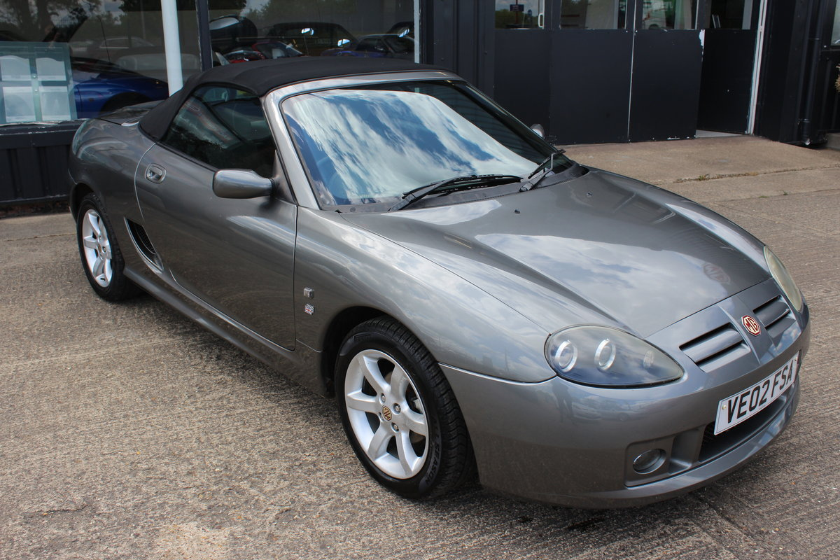 2002 MG TF AUTO,ONLY 28000 MLS,NEW HEADGASKET,BELT & PUMP,RAC SOLD (picture 1 of 6)