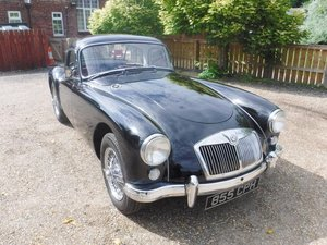 **NEW ENTRY** 1957 MG A Coupe SOLD by Auction