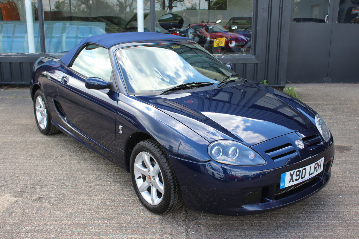 2002 MG TF 135,TAN INTERIOR,40K,NEW HEADGASKET,BELT & PUMP,RAC For Sale (picture 1 of 5)