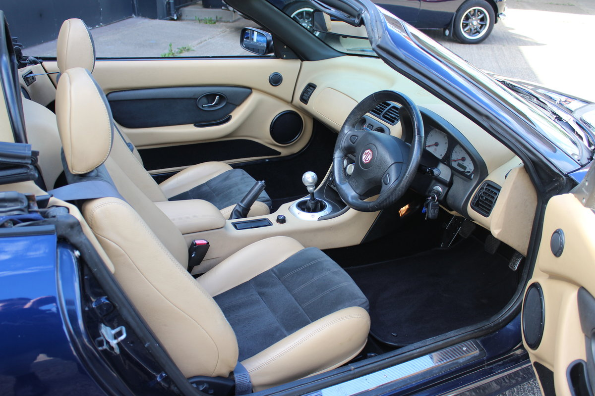 2002 MG TF 135,TAN INTERIOR,40K,NEW HEADGASKET,BELT & PUMP,RAC For Sale (picture 4 of 5)