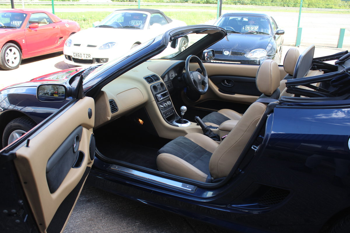 2002 MG TF 135,TAN INTERIOR,40K,NEW HEADGASKET,BELT & PUMP,RAC For Sale (picture 5 of 5)